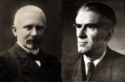 Композитори Мечислав (справа на фото) та Адам (зліва) Солтиси