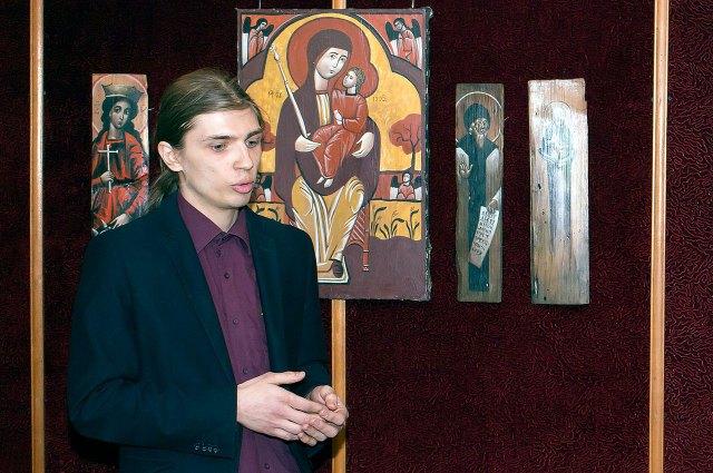 Іконописенць Михайло Скоп