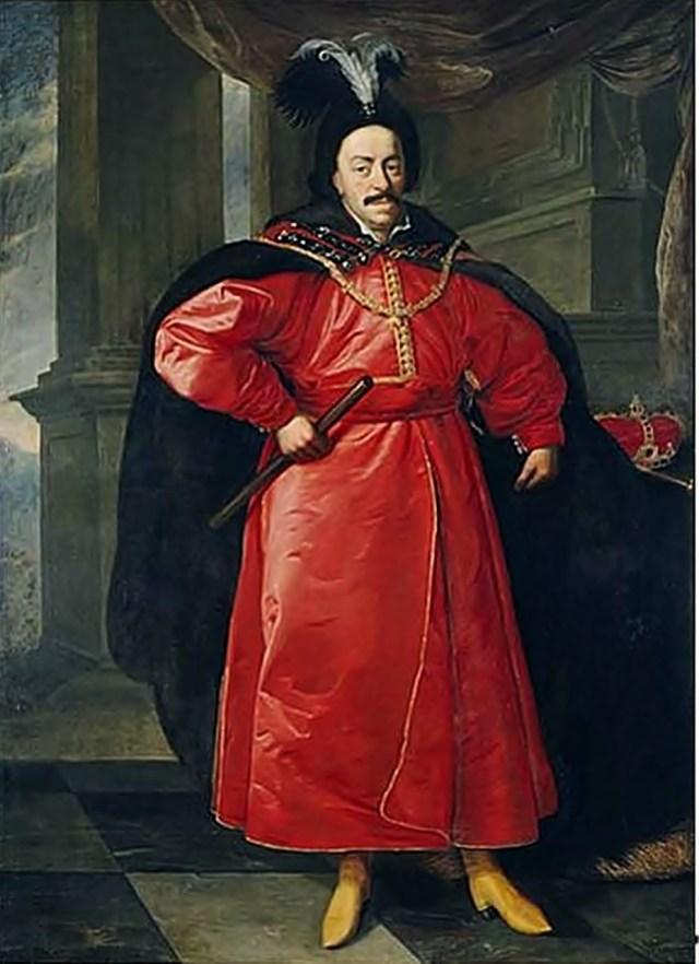 Ян Казимир (портрет пензля Даніеля Шульца)