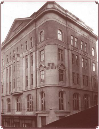 """Готель """"Асторія"""". Фото поч. 20 ст."""