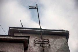 Львів, флюгер будинку на вул. Ген. Грицая, 4, на якому вказано рік зведення будинку