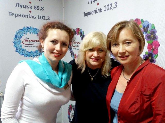 На фото (зліва направо): Леся Кічура, Діана Гайворонюк та Олена Серпень.