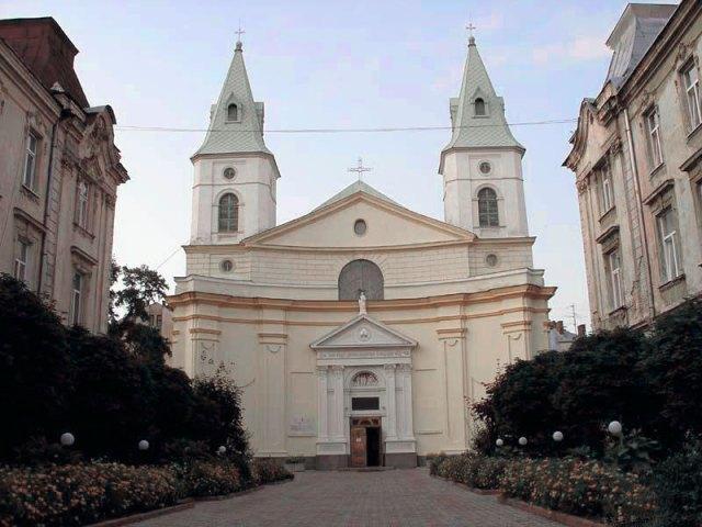 Костел святої Урсули на вул. Зеленій №11-Б