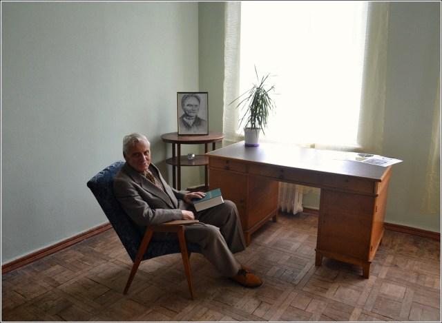 Роланд Франко в офісі Міжнародного фонду (фото Тетяна Жернова, 2016р)
