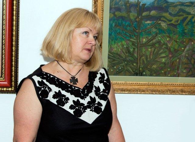 Завідувач музею «Жовківський замок» Софія Каськун