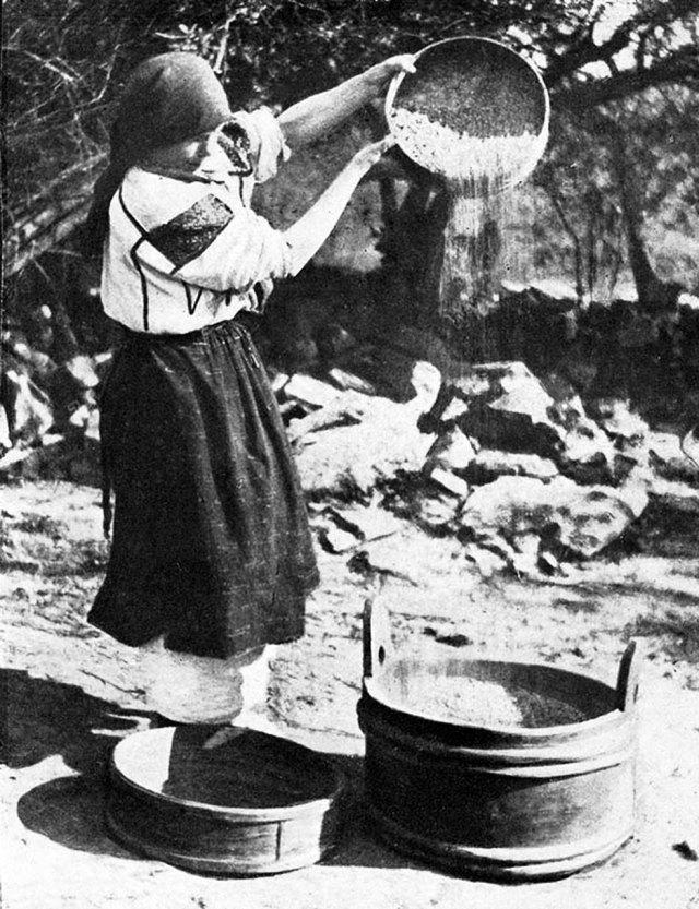 Юліан Дорош. Віяльниця, поч. 1930-х рр. (зі сайту http://esu.com.ua)
