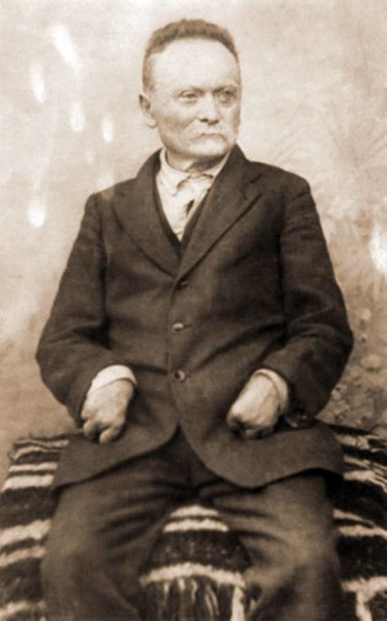 Іван Франко. Фото 1912 р.