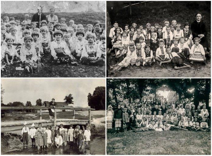 Захоронка (дитячий садок) Рідної Школи у Хоросно Старому
