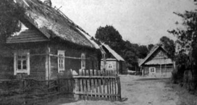 Ірина Ґурґула. Загорода в селі Ладорож Пинського повіту, 1930-ті рр. (Наша Батьківщина. – 1938. – Ч. 5)