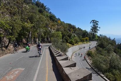 A view of Santiago