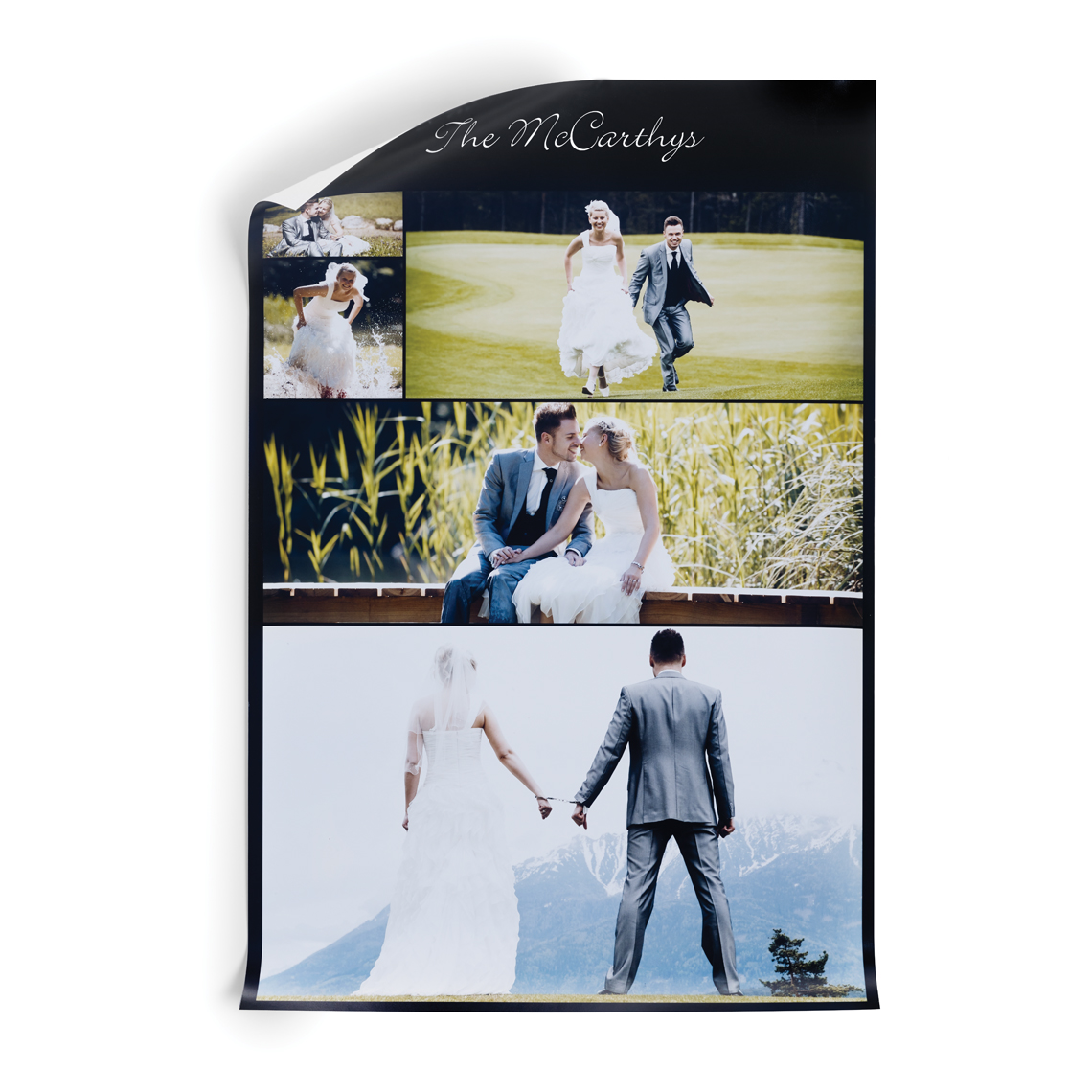 Photo Poster Photo Collage Poster With Matte Finish Cvs Photo