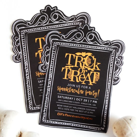 halloween invitation gallery craftgawker - halloween invitation