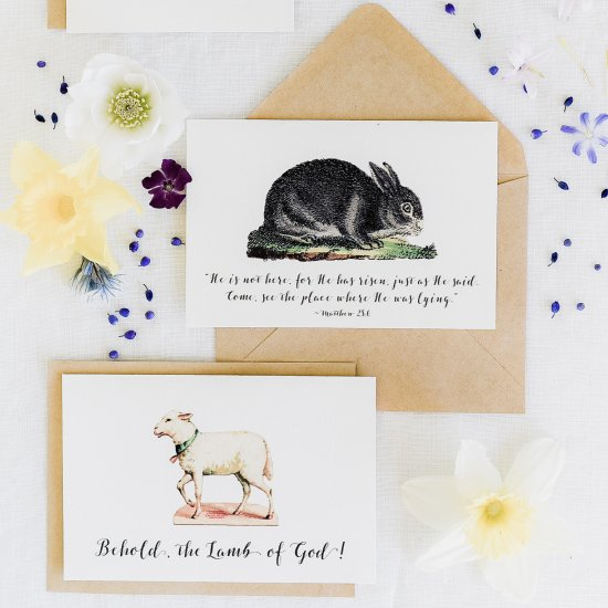 religious gallery craftgawker - free printable religious easter cards