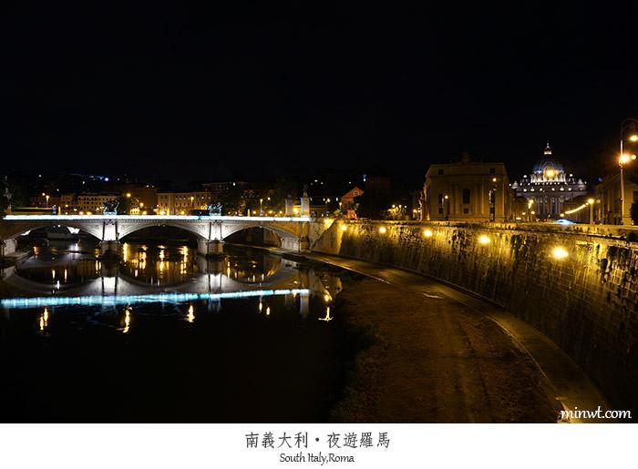 【義大利】微單輕旅行-夜遊羅馬城