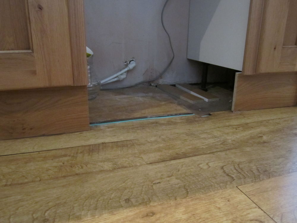 Fitting Laminate Flooring Around Kitchen Units Flooring