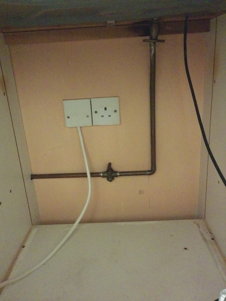 Removal Of Gas Hob And Capping Pipe Gas Work Job In
