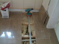 Pipes moving and new wastes sorting - Plumbing job in ...