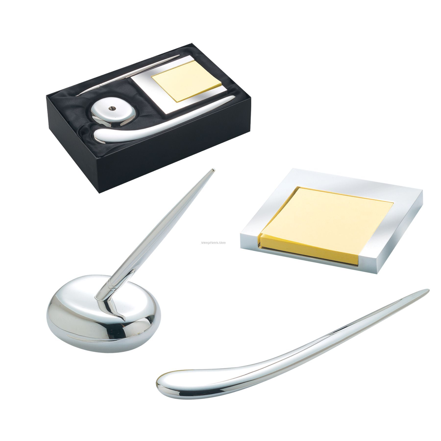 Pen And Holder Set 3 Piece Executive Desk Gift Set W Pen Letter Opener