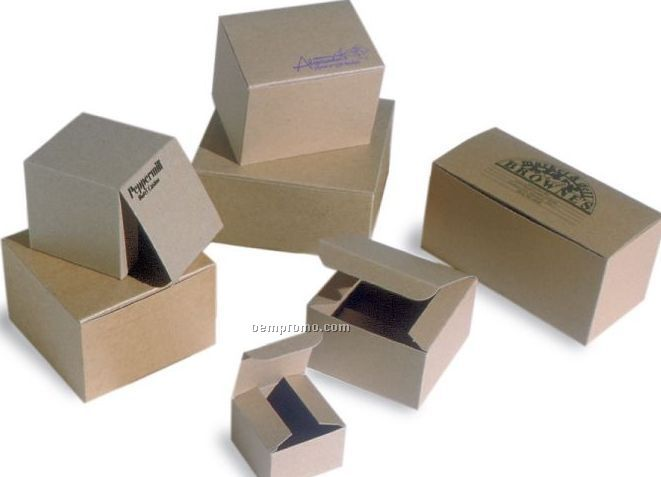 Natural Kraft Pinstripe Gift Box 12quotx6quotx6quotchina