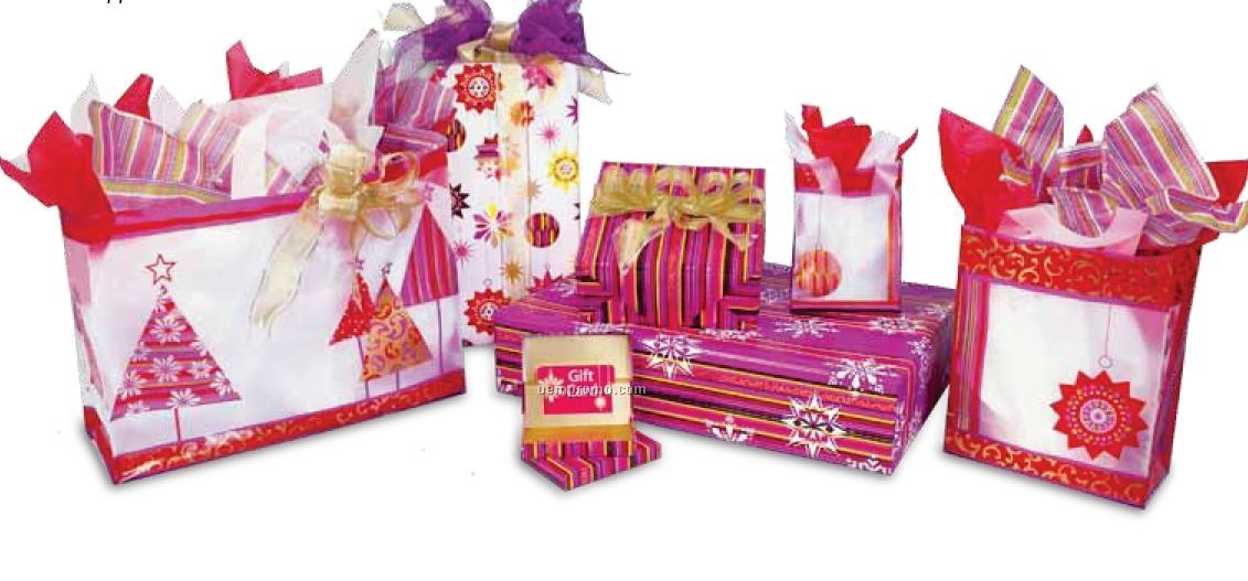 Holiday Mini Stripe Pop Up Gift Card Box Coordinatechina