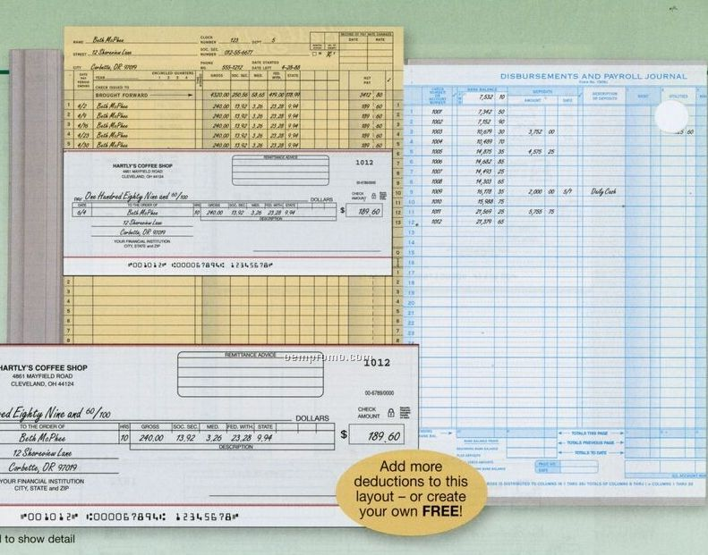 Record\/Book Keeping,China Wholesale Record\/Book Keeping-(Page 5) - payroll receipt