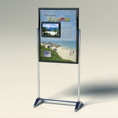 Freestanding Poster Display
