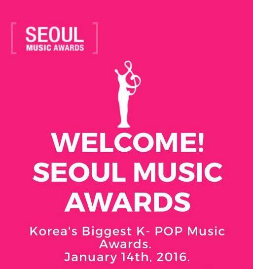 [直播] 2016 Seoul Music Awards 首爾歌謠大賞/音樂頒獎典禮網路重播、線上看