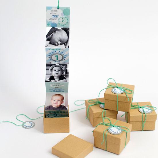 birthday invitation in a box craftgawker