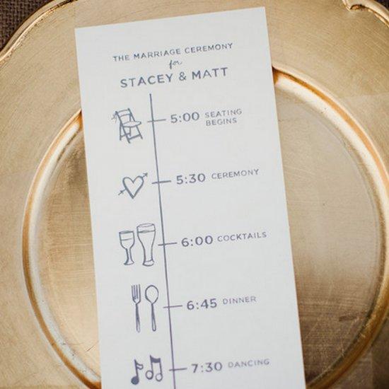 wedding program gallery weddinggawker