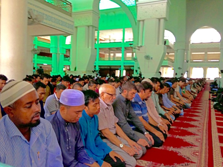Dhuhr Prayers at SHAS Mosque, IIUM
