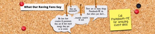 Photobooth fans Testimonials