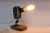 Repurposed Upcycled Original Vintage Movie Camera Desk ...