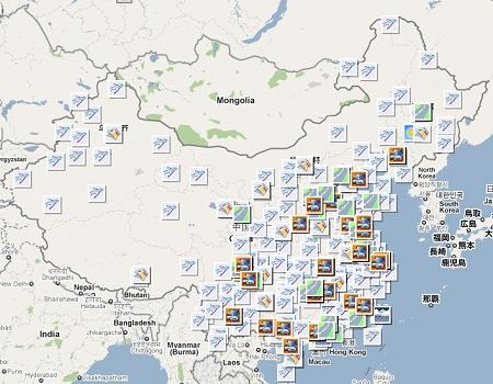 谷歌中國推春運地圖避談退出-搜狐新聞