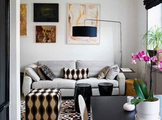 Deco Salon Petite Surface   Ancienne Maison De Charme Au Design ...