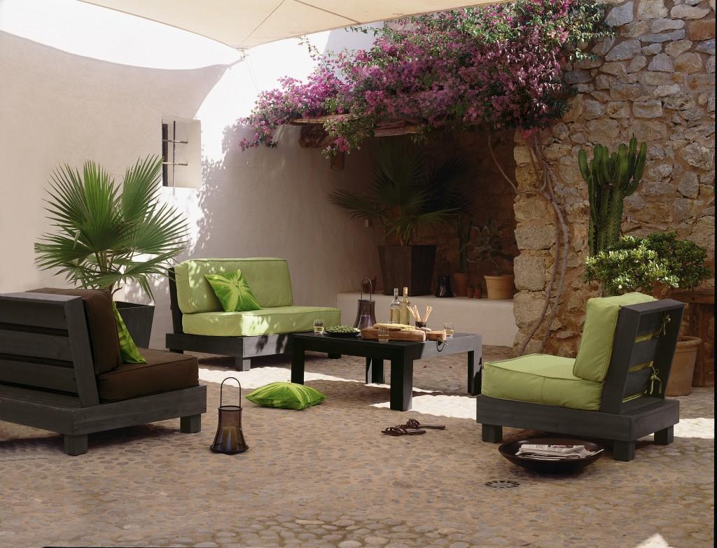 Idée Décoration Jardin | 201 Deco Salon De Jardin Idee Allee De ...