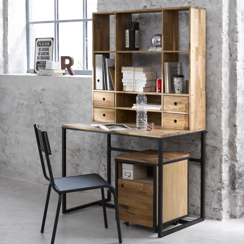 Photo Decoration Déco Bureau Style Industriel 9 Jpg - Bureau Deco Industriel
