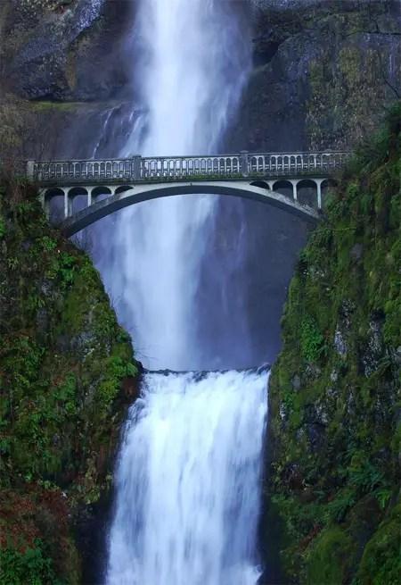 Multonomah Falls Wallpaper Brilliant Examples Of Bridge Photography