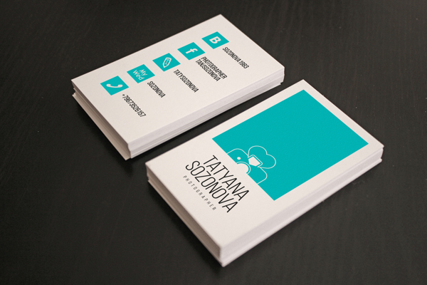 40 Creative Photography Business Card Designs for Inspiration - card templates for pographers