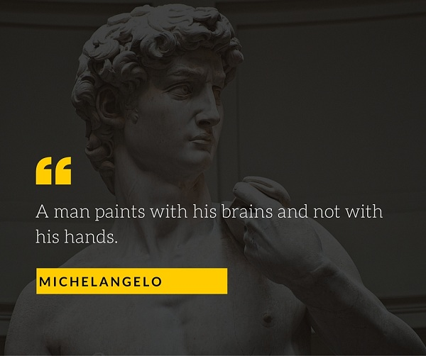 10 Quotes About Photography by Michelangelo and Other Great Artists