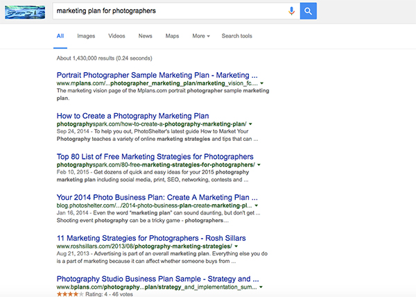 Create a Photography Business Marketing Plan in 3 Days - Photography Business Plan