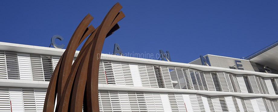 Hôpital de Cannes, la façade © Michel Bourguet