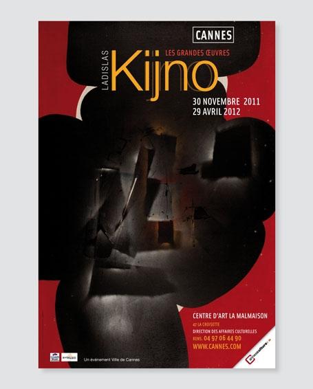 Affiche Kijno, Les grandes œuvres