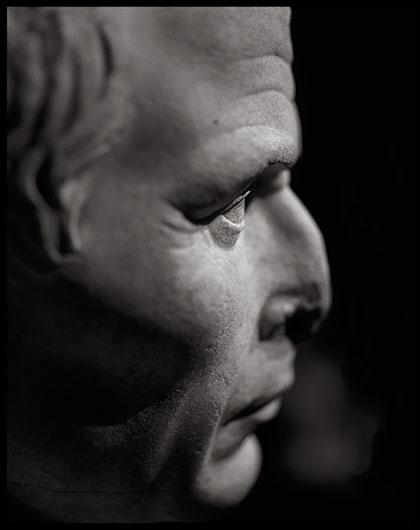 MDAA, buste de César © Michel Bourguet