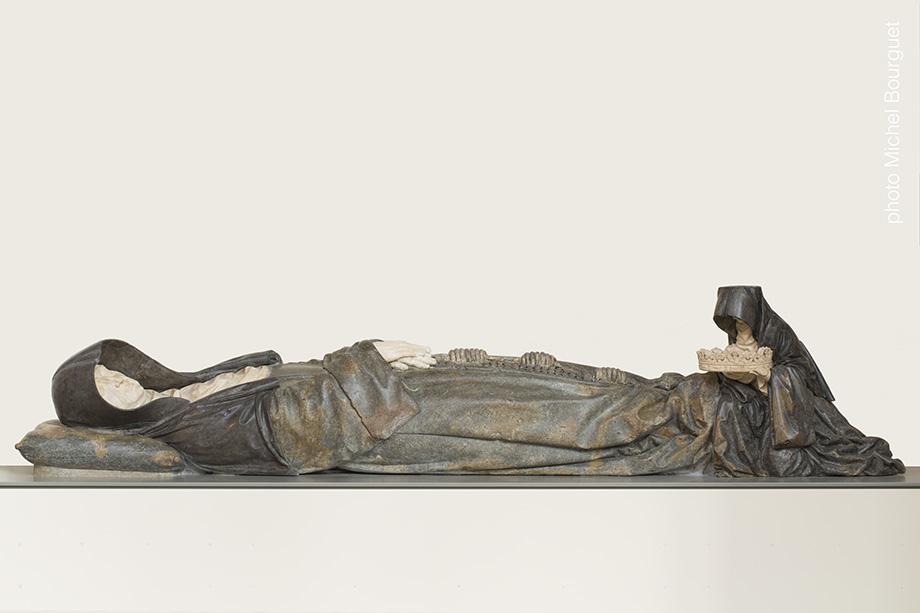 Le gisant et l'orante, montage définitif © Michel Bourguet photographe d'œuvre d'art