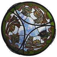 Lustre à décor d'algues © Michel Bourguet