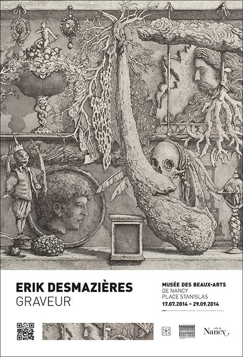Affiche Erik Desmazieres - photo Michel Bourguet
