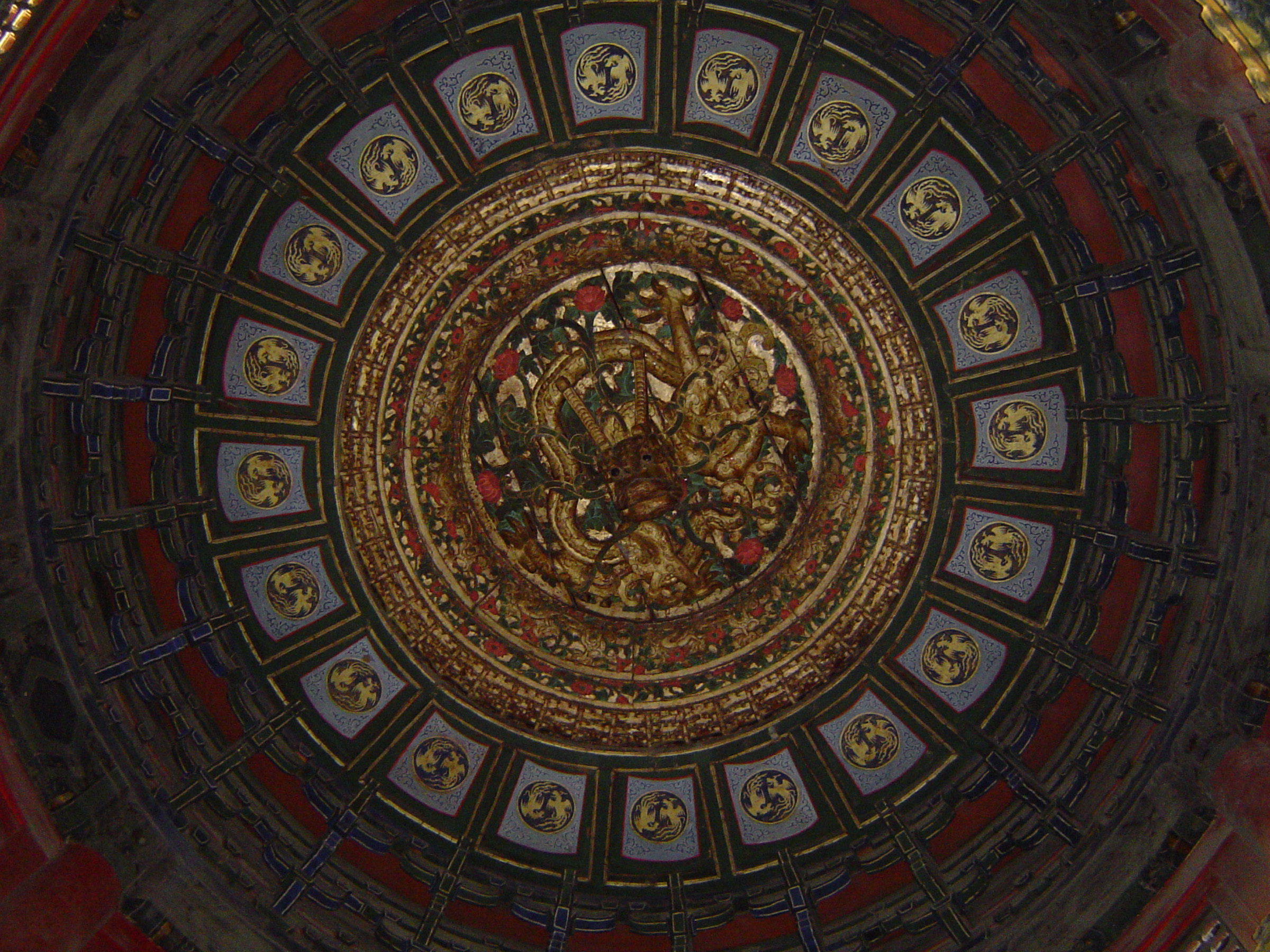 Ceiling Design Online Free Stock Photo Of Circular Ceiling Design Of Chinese Temple