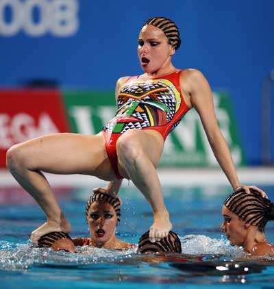 swim team nipples