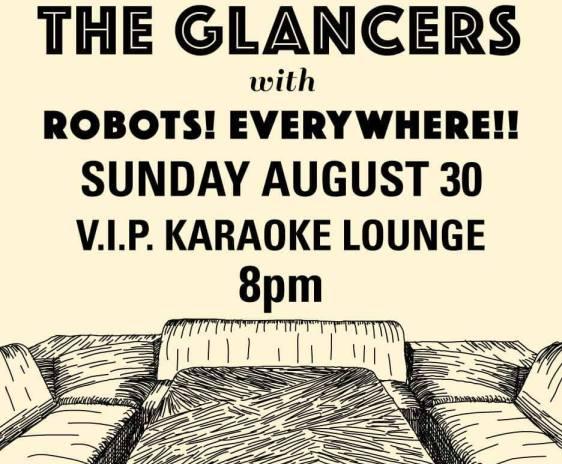 TheGlancers-RobotsEverywhere-VIPKaraoke