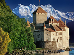 Castle Chillon - Montreux, Switzerland